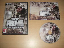 ARMA II 2 - OPERATION ARROWHEAD Standalone Expansion  Pc DVD Rom