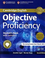 OBJECTIVE PROFICIENCY 2nd Ed STUDENT BOOK PACK with Class CDs EXAM from 2013 NEW