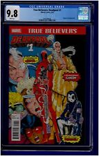 TRUE BELIEVERS: DEADPOOL #1 CGC 9.8 NEW MUTANTS #98 REPRINT