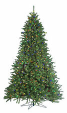 7.5' Pre-Lit Grand Canyon Christmas Spruce Artificial Tree w/Multi-Color Lights