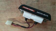 70S DATSUN 620  PICK UP DASH FLOOR TEMP FASTEN BELT  LIGHT WITH HOUSING HARNESS