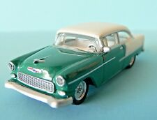 Free Shipping! HO 1:87 Scale Die Cast Car 1955 Chevy Bel Air Green/Cream Schuco