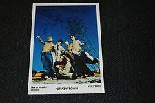 Crazy Town signed autógrafo 13x18 cm en persona Shifty Shellshock Butterfly