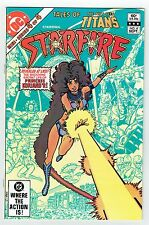 Tales of the New Teen Titans starring Starfire #4 DC Comics Bronze 1982 VF/NM