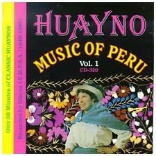 Huayno Music of Peru 1 1993 by Huayno Music of Peru Ex-library