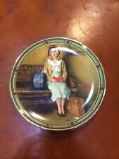 Norman Rockwell's American Dream Young Girls Dream Knowles Collector Plate u23