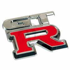 GTR Emblem Zeichen Chrom Schriftzug Auto Aufkleber Heckklappe Kotflügel Logo 3D