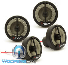 "FOCAL 2 PAIRS OF TN1 HOME OR CAR AUDIO TWEETERS WITH 1"" INVERTED DOME BULK LOT"