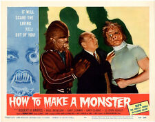 """How to make a monster  Movie Poster Replica 11x14"""" Photo Print"""