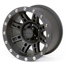 Pro Comp Alloy Wheels Series 7031, 15x8 with 5 on 4.5 Bolt Pattern - Flat Black