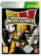 Dragon Ball Z Burst Limit Classics Xbox 360 * NEW SEALED PAL *