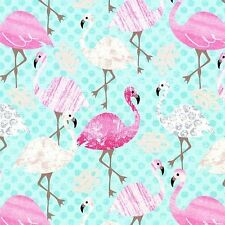 Pink Flamingo by Timeless Treasures , cotton fabric