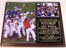 Dominican Republic 2013 World Baseball Classic Champions Photo Plaque Dominica!