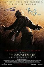 SHAWSHANK REDEMPTION AUTOGRAPH MOVIE POSTER A2 594 x 420mm (Very Rare)