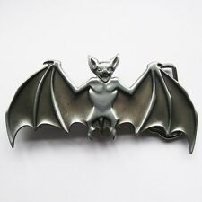 NEW BAT ANIMAL HALLOWEEN DRACULA VAMPIRE BELT BUCKLE