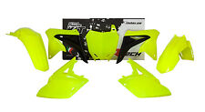 Kit Plastiche Suzuki RMZ 250 10-16 Giallo Roczen Ltd Yellow Fluo Plastics Kit