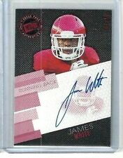 2014 Press Pass Red Autographs JAMES WHITE * SSP RC AUTO serial numbered 02/10 !