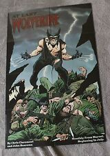 Wolverine #1 1988 Chris Claremont John Buscema 1st Patch Marvel PROMO Poster FVF