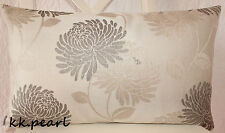 """Elegant Bold Floral Cushion Cover Maggie Levien for John Lewis Fabric. 12"""" x 20"""""""