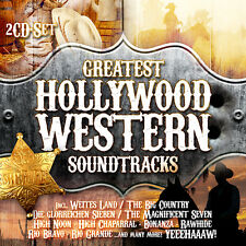 CD Greatest Hollywood Western Colonne sonore 2CDs incluse La glorioso Sieben