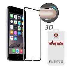 IPHONE 7 PELLICOLA VETRO TEMPERATO GLASS BORDI RINFORZATI IN ALLUMINIO 3D TOUCH