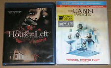 Horror Blu-ray Lot - The Cabin in the Woods USED The Last House on the Left NEW