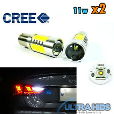 2x 1156 BA15s 7506 CREE Q5 LED Projector Turn Signal Light Tail Reverse Bulb 11W