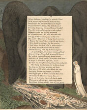 William Blake Illustrations:Night-Thoughts:The Vale of Death p54: Fine Art Print