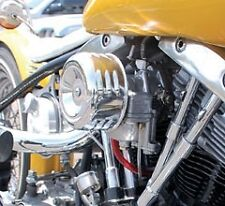 MOONEYES AIR CLEANER LOUVERED CHOPPER BOBBER MOTORCYCLE CV HARLEY ADAPTER