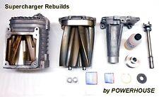 Jaguar XJR XKR Eaton 4.0 M112 Supercharger Rebuild Service & 10% Pulley Upgrade