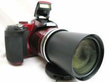 Nikon Coolpix P600 compack digital camera *red with accessories *superb