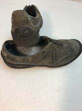 PRIVO By Clarks Women's Gray Leather Zip Casual Shoes Size 9M