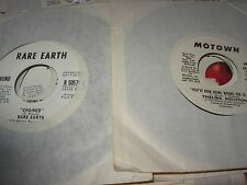 "THELMA HOUSTON, RARE EARTH 70s music ( r&b ) - 2x7"" LOT / 45 - PROMO -"