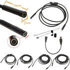 1M To 5M 5.5mm 7mm Android Endoscope Waterproof Borescope Inspection Camera 6LED