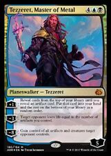 FOIL Tezzeret, Master of Metal NM -Aether Revolt- Gold Rare MTG  FOIL BUP282
