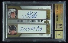 2005-06  SIDNEY CROSBY ROOKIE UPDATE #276 ROOKIE AUTOGRAPH /199 BGS 9.5 RC POP 6