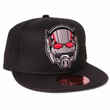AWESOME MARVEL COMICS ANT-MAN HELMET/MASK BLACK SNAPBACK CAP HAT *NEW*
