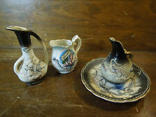 Lot of Miscellaneous Porcelain Japanese Dragon Ware Cups and Saucer