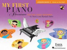 My First Piano Adventure: Lesson Book C with Play-Along and Listening CD by , (P