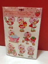 Strawberry Shortcake Scented Sticker Page SEALED 8 large stickers