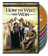 How the West Was Won ~ Complete 2nd Second Season 2 Two ~ NEW 6-DISC DVD SET