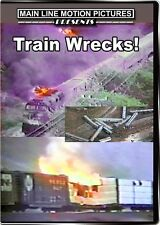 Train Wrecks! DVD Norfolk Southern Amtrak Cajon Pass Ringling Bros Helena