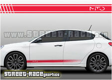 Alfa Romeo 008 Racing Stripes gráficos Stickers Calcomanías Mito