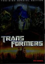 Transformers ( Action-Sci-Fi 2 DVDs )von Michael Bay mit Shia LaBeouf, Megan Fox