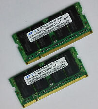 Free Shipping SAMSUNG 8GB Kit /2 x 4GB 2Rx8 PC2-6400s DDR2 800MHz Laptop RAM