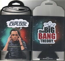 The Big Bang Theory Sheldon Head Will Explode Beer Huggie Can Cooler NEW UNUSED