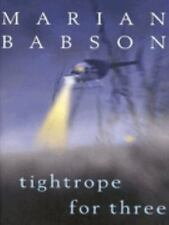 Tightrope for Three by Marian Babson (2001, Hardcover)