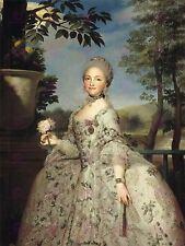 Pintura Retrato Mengs Princesa Maria Luisa Asturias de impresión de gran Cartel lf1622