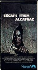 Escape from Alcatraz 1980 VHS Clint Eastwood Great Granddad Gift Paramount