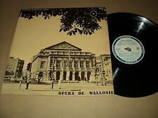 "DIVERS 33 TOURS LP 12"" THEATRE ROYAL LIEGE OPERA WALLONIE BEETLE BECAUD VW"